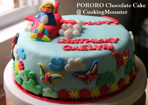 PORORO Choco Cake