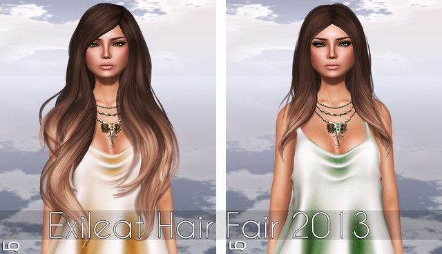 Exile at Hair Fair 2013 - Counting Stars - Cashmere & Time and Sound - Cashmere / Belleza - Ava for TLC in SK