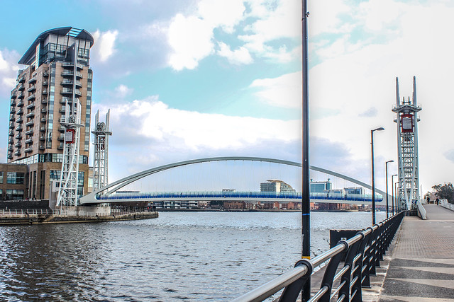 Salford Quays en Manchester