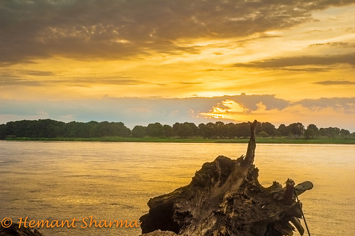 sunrise golden nikon nile waters cloudscape juba