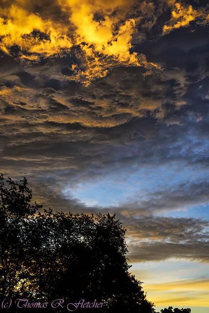 Colorful Southern Sky Sunrise