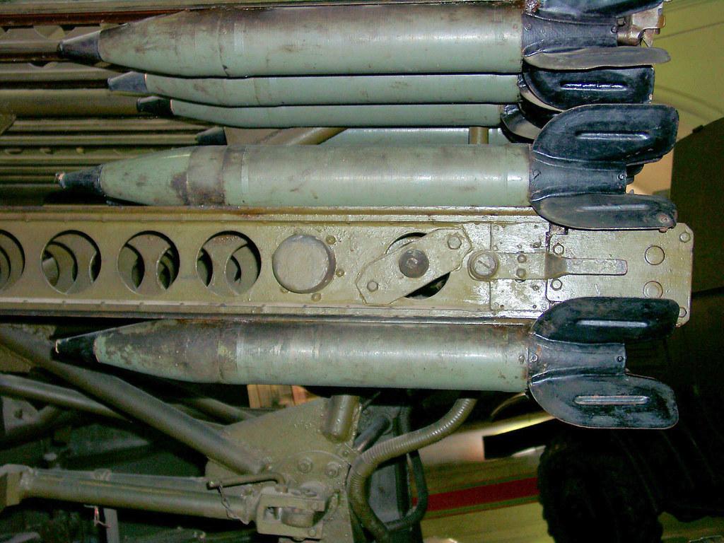 bm-8 48 katyusha rocket launcher - walkaround - photos