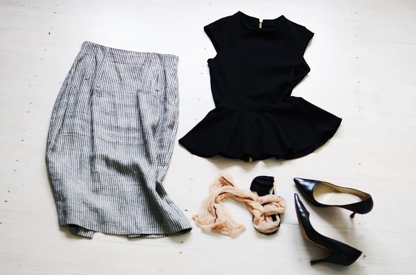 Black-white-outfit k