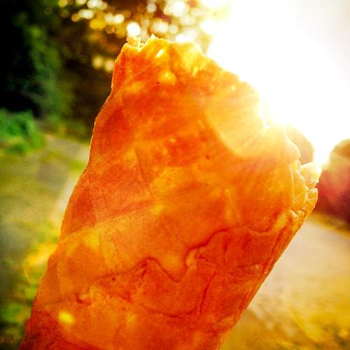 Eis in der Sonne