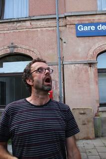 Jean-Yves découvre la roulotte