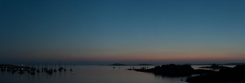Porth Thomas by night