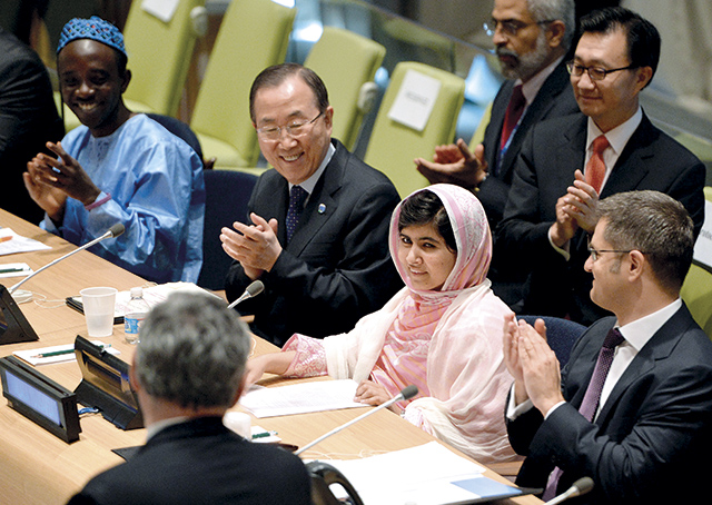 UN-PAKISTAN-YOUTH-MALALA YOUSAFZAI