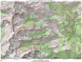 High Lonesome Loop TOPO Map