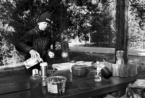 Breakfast in Camp