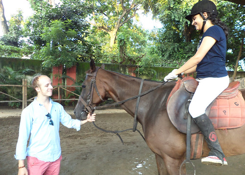Horse Riding Training at Calcutta Polo Club by Thomas William by EventArchitect