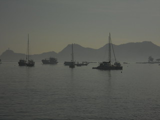 boats in Dili harbour