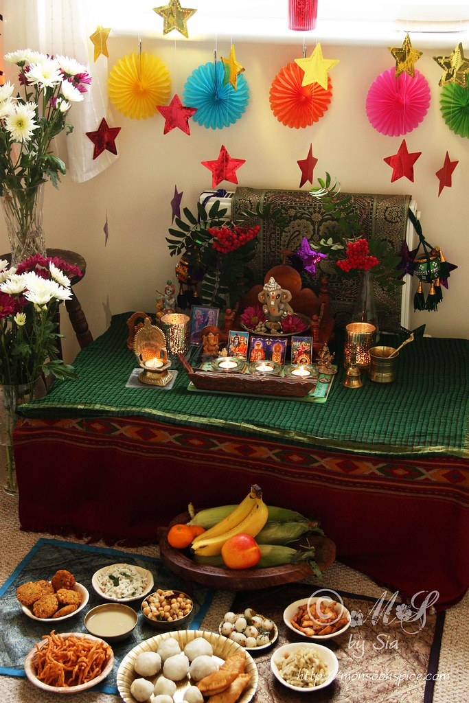 Monsoon spice unveil the magic of spices ammini for Decorations for ganesh chaturthi at home