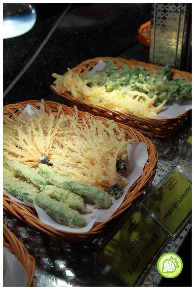 deep fried enoki Jang Gun