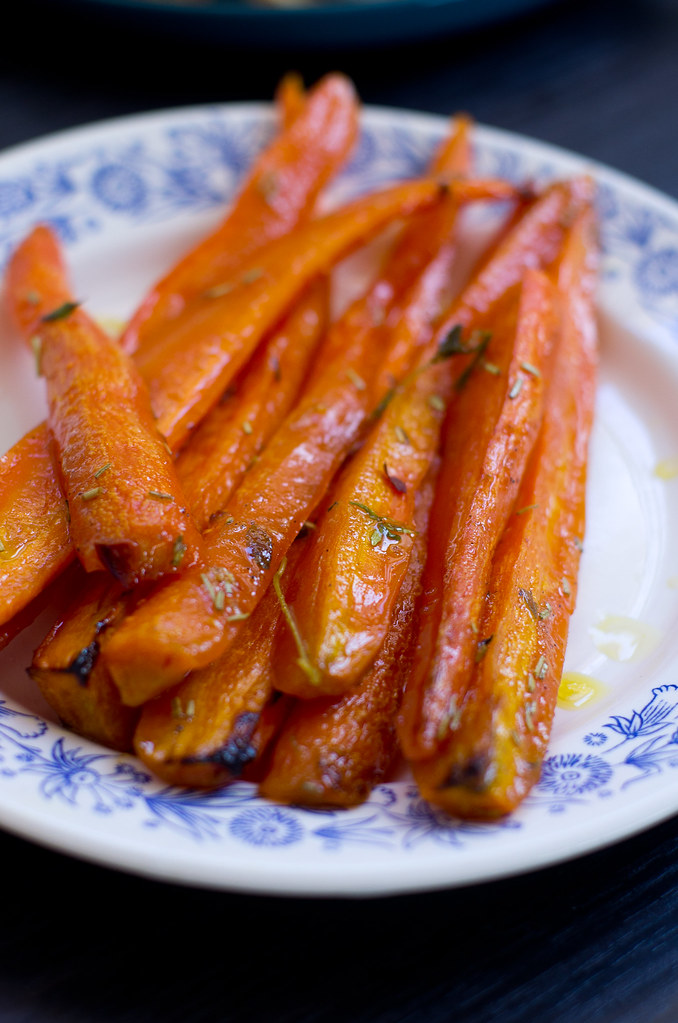 Mesised porgandid / Honey glazed carrots