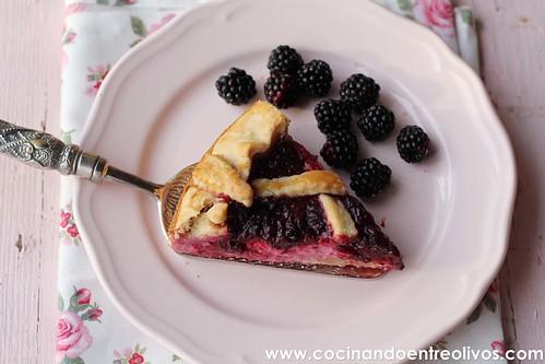 Tarta de moras y queso www.cocinandoentreolivos (4)