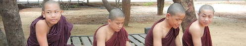 Moe Hti Aung Si Monastery young monks