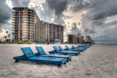 morning beach clouds sunrise hotel sand nikon day florida cloudy fl pcb panamacitybeach panamacitybeachfl bryanjaronik