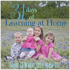 31 Days of Learning at Home