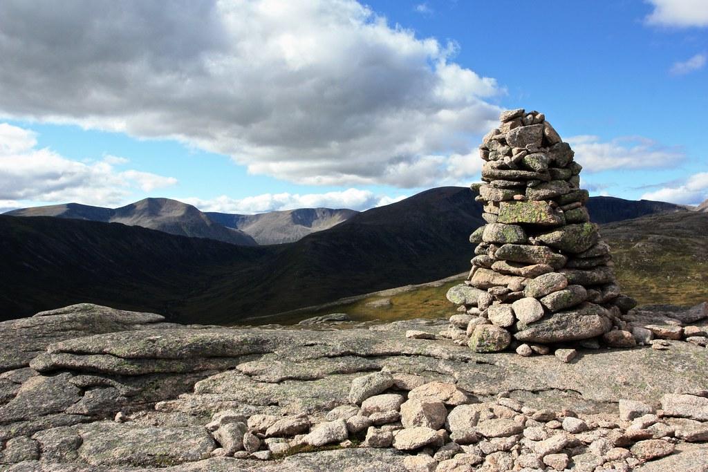Summit of Carn Crom