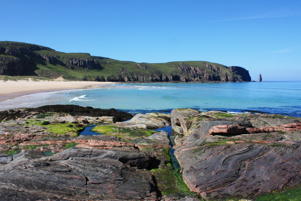 Rockpools and Sea Stacks, Sandwood Bay