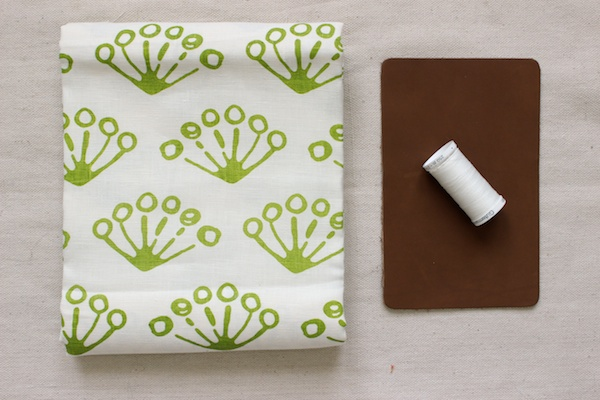 Fabric Paper Glue | Super Easy Linen Clutch