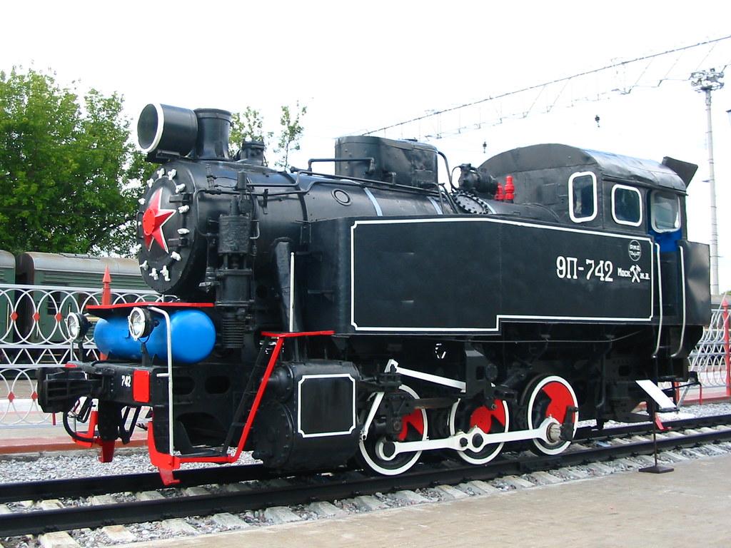 9P-742 Moscow railway museum