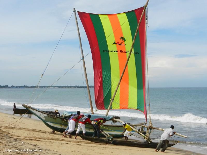 Негомбо, традиционная лодка