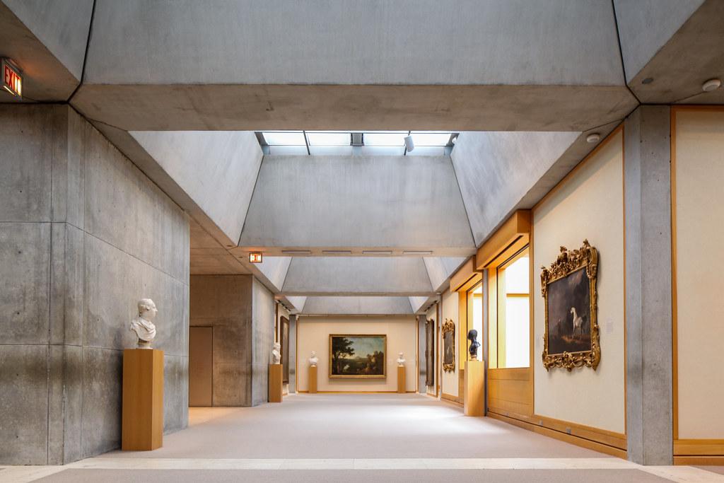 Yale Center For British Art Louis Kahn The Yale Center