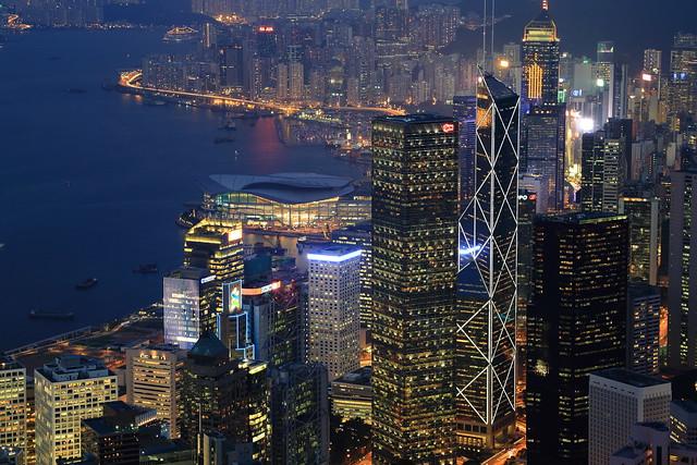 La Baie - Victoria Peak - Hong Kong - Chine