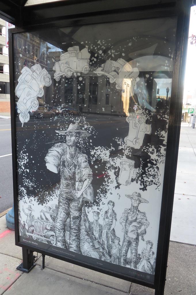 Metro Art Shelters