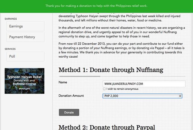 Donate to #NNForPH