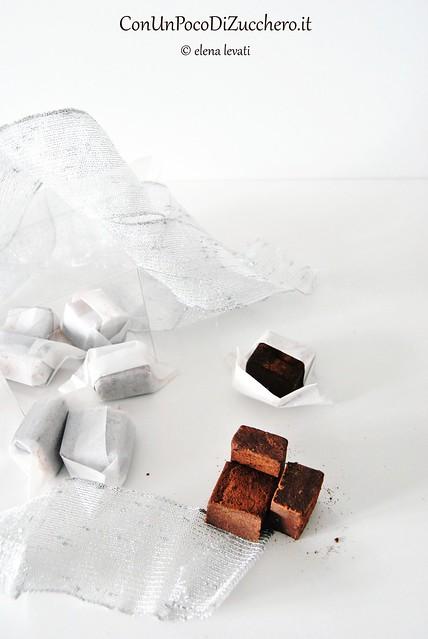 Caramelle morbide al cioccolato profumate alla cannella