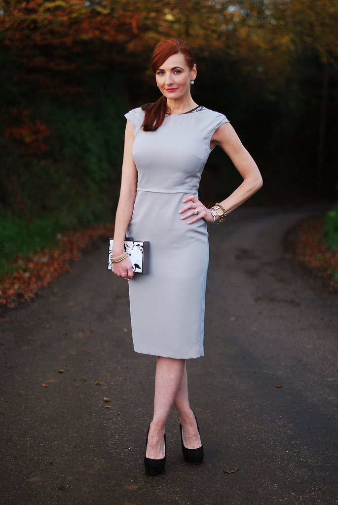 Bastyan Arin cocktail dress, grey