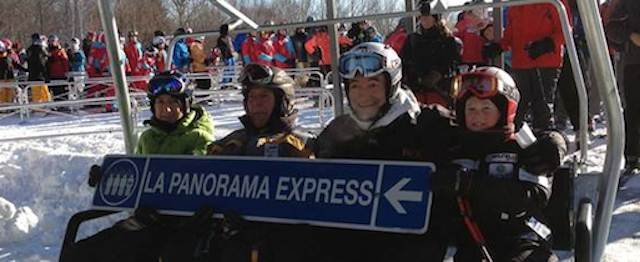 Inauguration of Panorama-Express Lift (Mont-Sainte-Anne)