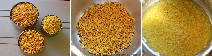 How to make dal fry - Step1