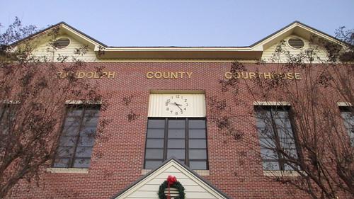 Randolph County Courthouse Detail (Wedowee, Alabama)
