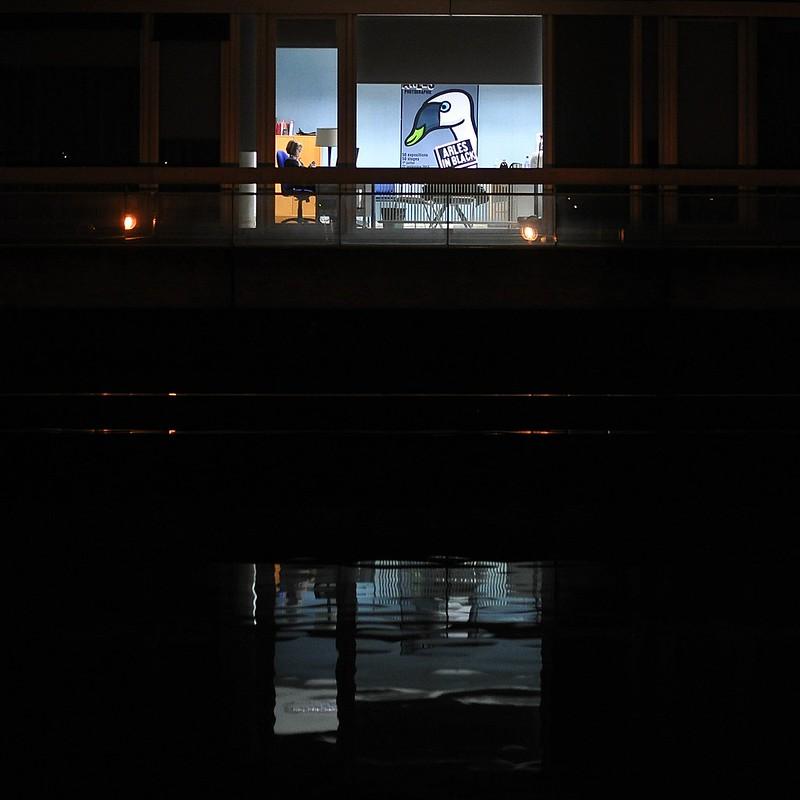 Evry Daily Photo - Palais de Justice Evry la nuit