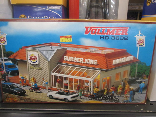 HO Scale Burger King