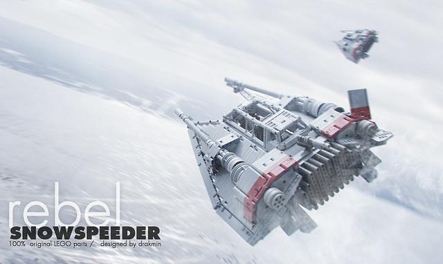 technic lego t-47 airspeeder