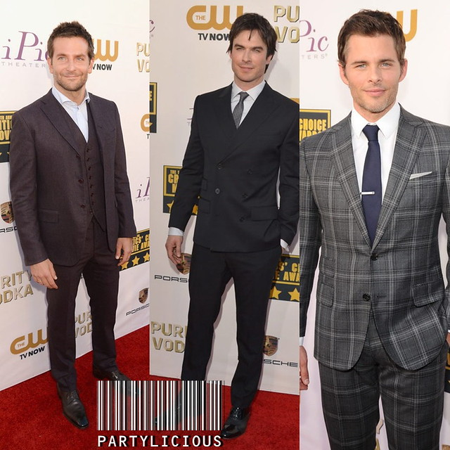 Bradley Cooper, Ian Somerhalder and James Marsden at the 19th Annual ...