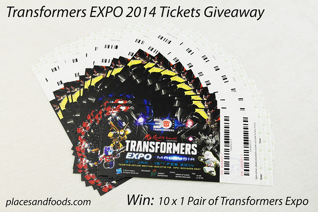 transformers giveaway
