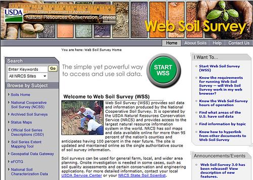 Web soil survey update improves data delivery customer for Soil web survey