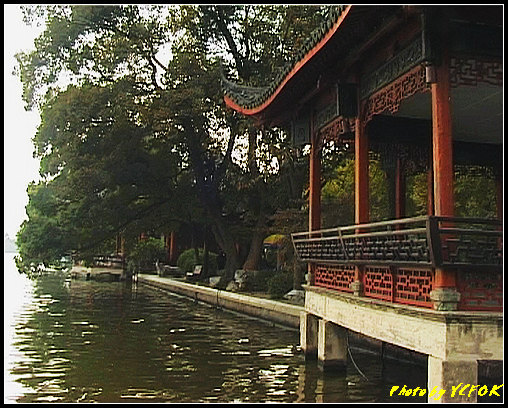 杭州 西湖 (其他景點) - 175 (白堤上的西湖十景之 平湖秋月)