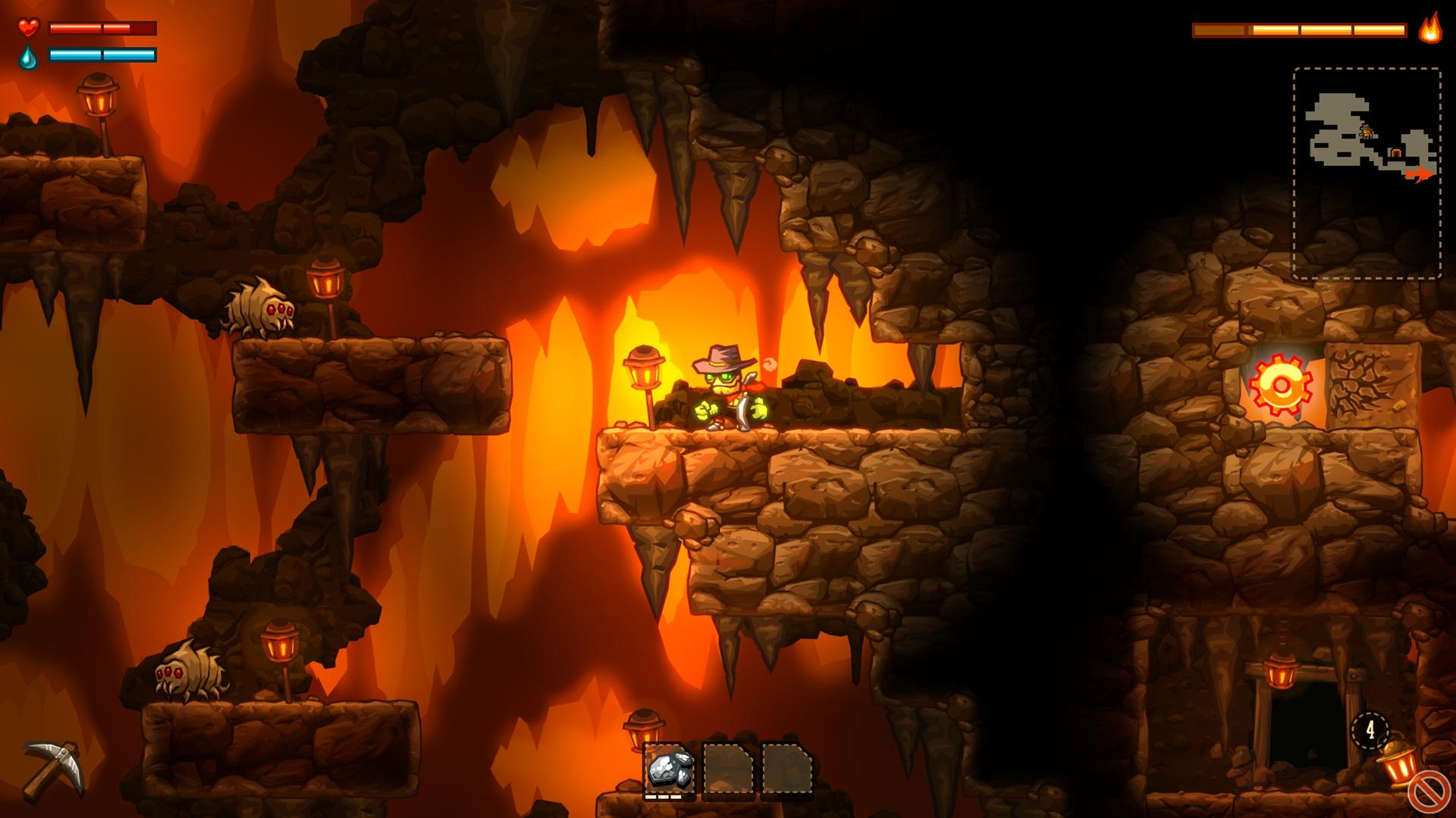 SteamWorld Dig Review (3DS eShop) 12508351344_7e5572b9f8_o
