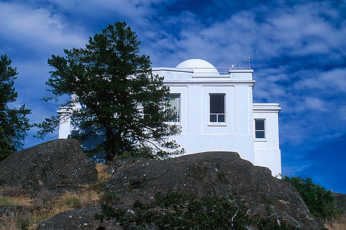 Gonzales Observatory, Gonzales Hill Park, Victoria, Vancouver Island, British Columbia, Canada