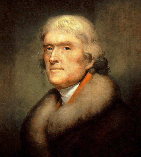 Image result for Thomas Jefferson skeptic