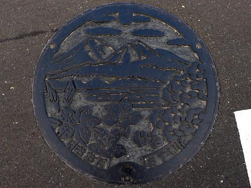 Oda Shimane, manhole cover (島根県大田市のマンホール)