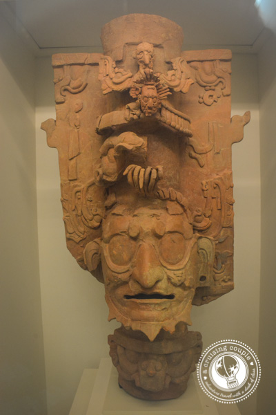 Finding Art and History in Cancun - Mayan Museum Incense Holder