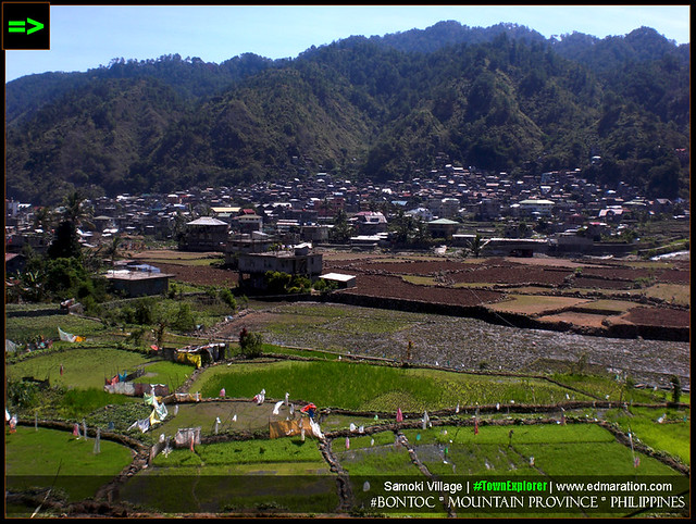 Samoki Village, Bontoc, Mountain Province