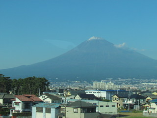 Fuji from the train